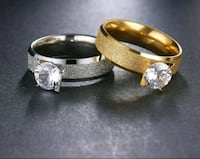 two gold-colored rings Surrey, V3X 1P3