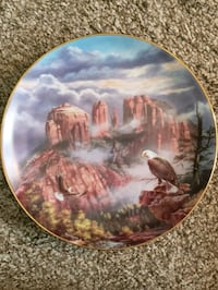 Eagle collector plate's  Bountiful, 84010