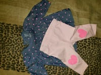 baby's two pink and blue onesies Edinburg, 78542