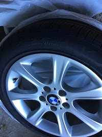 OEM BMW rims with Pirelli tires TORONTO