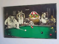 Dogs playing pool South Mills, 27976