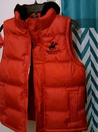red Polo Club zip-up bubble vest Indio, 92201