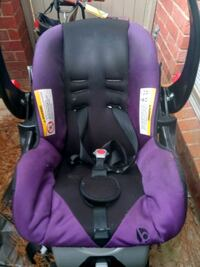 baby's purple and black car seat carrier Houston, 77090