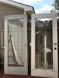 Storm doors 79x32 . left. in slidell la New Orleans, 70130