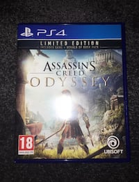 Assassins Creed Odyssey for PS4 limited editon London
