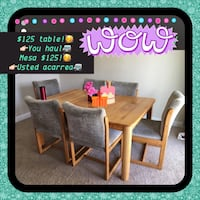 Table & 6 chairs  Henderson, 89002