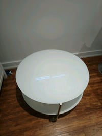 round white glass coffee table Toronto, M9L 2N9
