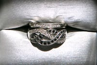 "Lady's 14kt. ""Engagement"" white gold diamond ring St. Albert, T8N 2Y1"