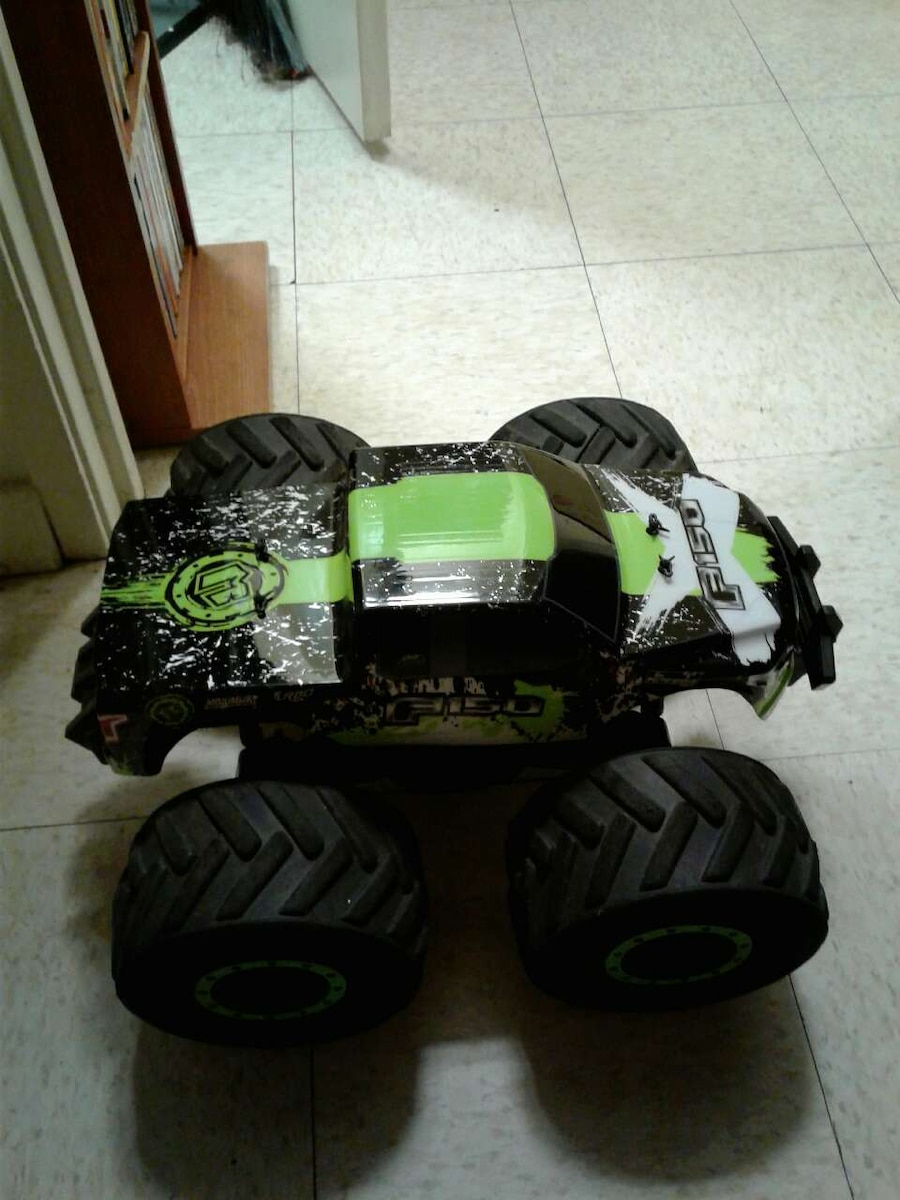 Green Monster Truck Toy : Letgo f black and green monster in lehigh valley pa
