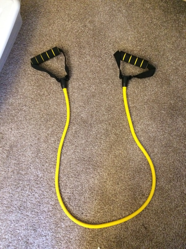 80d3fac0dc3 Used Yellow resistance band for sale in Savannah - letgo