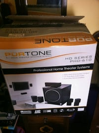Pur Tone Home Theater Speakers