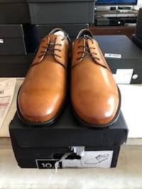 Everson Italian Leather Oxford 10.5 Arlington