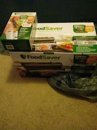 Food saver with extra bags  Cohoes, 12047