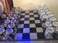 Chess set drinking game shot glasses glass Nicholasville, 40356