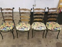 Vintage wrought iron chairs Duluth, 55811