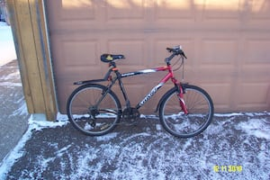 Giant Boulder 2006 Black/Red Bicycle