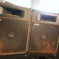 """TOA SL152 15"""" PA Speakers New Orleans, 70117"""