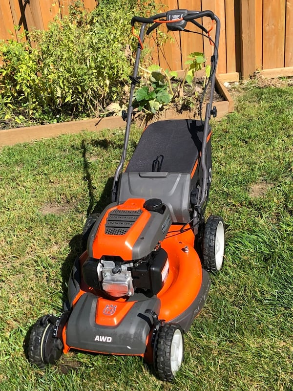 Honda husqvarna awd lawnmower 6