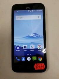 MINT ZTE Avid Trio Z833 8GB Blue (Unlocked) Baltimore, 21216