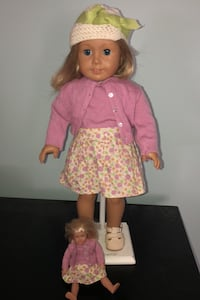 American Girl Doll Kit Kitterage with mini Burke, 22015