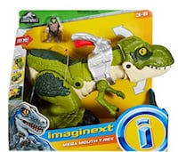 Brand New Fisher-Price Imaginext Jurassic Park mega mouth trex kids toy Toronto