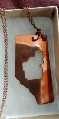 Copper hand crafted necklace Edmonton, T6J 2X9