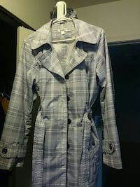white and blue plaid button-up shirt Ann Arbor, 48103
