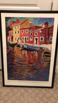 "Gorgeous Blue Canal 41 1/2"" x 29 1/2"" Aldie, 20105"