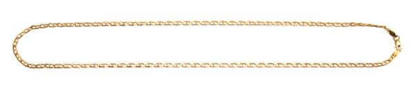14K Ladies Mariner's Link Chain