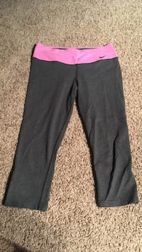 Women's grey and purple pants