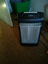 black space heater