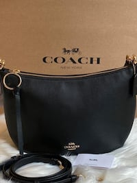 Coach Small Skylar Hobo Black