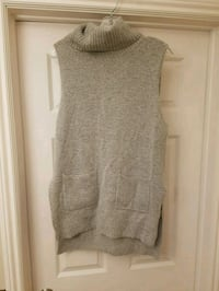Cowl neck Sleevless sweater dress  552 km