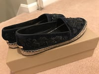 Burberry embroidery espadrilles   Sterling, 20165