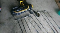 (Not complete)Jr set of used golf clubs Erie, 16509