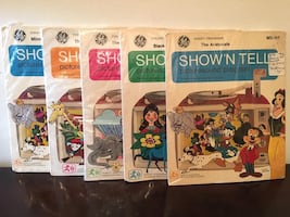 Vintage Show'N Tell Picturesound Programs - 5 Total - REDUCED