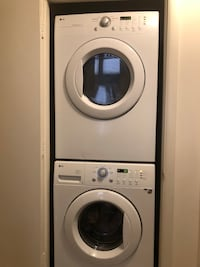 LG Washer and dryer in a very good working condition Fairfax, 22033