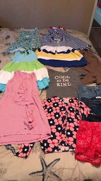 Gently used girl clothing size  7 / 8 Whittier, 90603