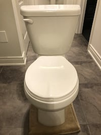 American standard two piece toilet comes with everything to install except water supply line Springwater