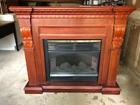 Elegant home fireplace New York, 11362