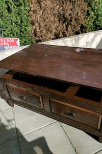 2-drawer chest coffee table