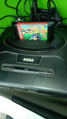 black Sega Cartridge