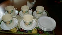 Tea cups and plates Chicago