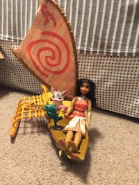 Moana play set great condition  Lancaster, 17601