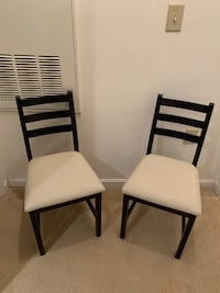Dining Chairs - 2 ($30 each) Woodbridge, 22192