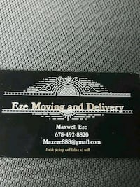 Eze moving and delivery