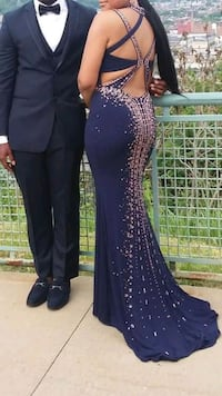 One of a kind prom dress Pittsburgh