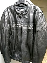 black leather zip-up jacket Greenville, 29615