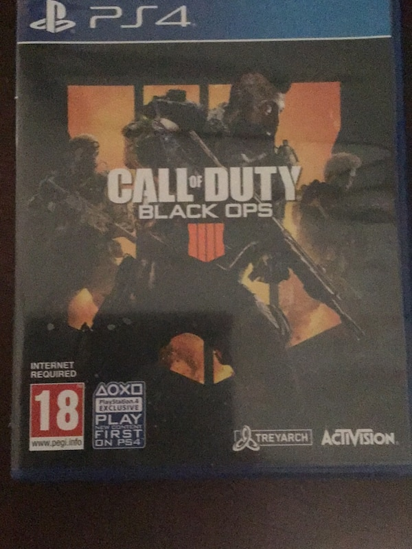 Black ops 4 great condition price is negotiable