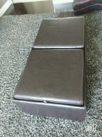 LATHER COFFEE TABLE FOR  SALE Toronto, M9R